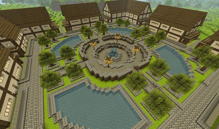 My minecraft town ( any ideas? )