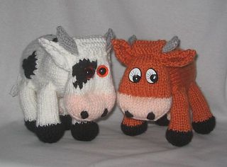 Knitting Pattern Cow Toy : 17 Best images about Crochet on Pinterest Womens beanie, Toys and Ravelry