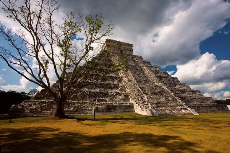 Пирамида Кукулькана Чичен-Ица Путешествие и Отдых в Мексике на севере…