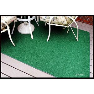 This Artificial Grass/ Carpet Rug or something similar could work as color spots at your Luau. Underneath the sign in table and another by the Aloha Greets with Lei are two places to consider  :  ) Susie