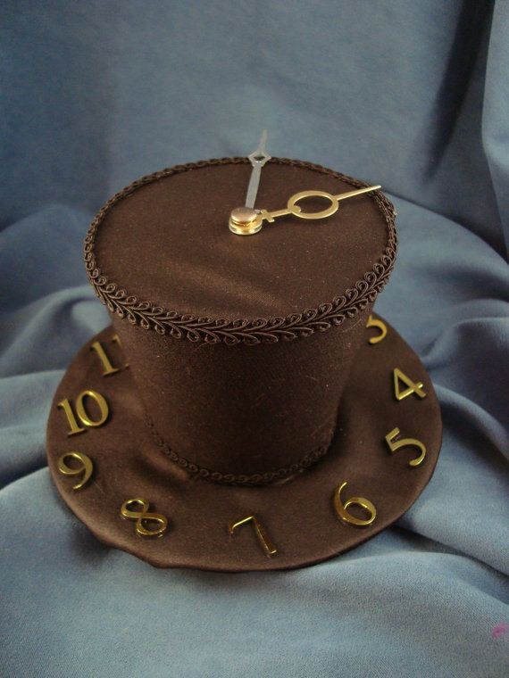 Steampunk Clock Mini Top Hat Minihat by HowVeryFascinating