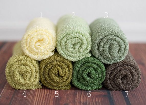Newborn Stretch Wraps IN STOCK and Ready to Ship Super Stretch Knit Soft Swaddle Photography Prop By Leighton Heritage. $18.49, via Etsy.
