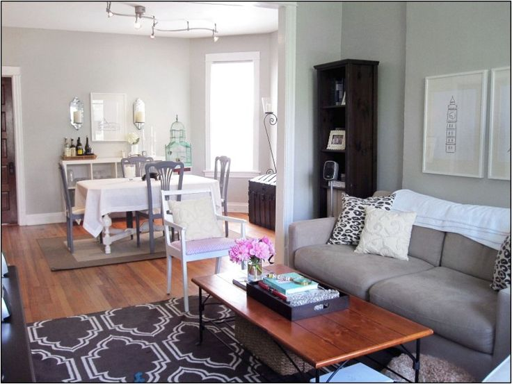 Awesome Small Living Room Dining Room Combo Photographs Very Small