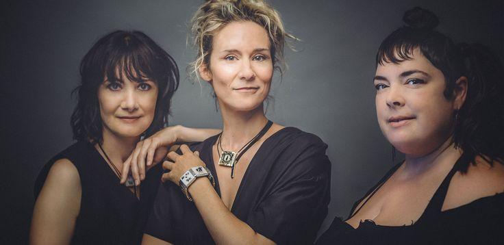 Collection Tapis Rouge 2015  Vanessa-Tatjana Beerli, Edith Cochrane, Anne-Marie Chagnon
