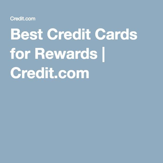 Best Credit Cards for Rewards | Credit.com