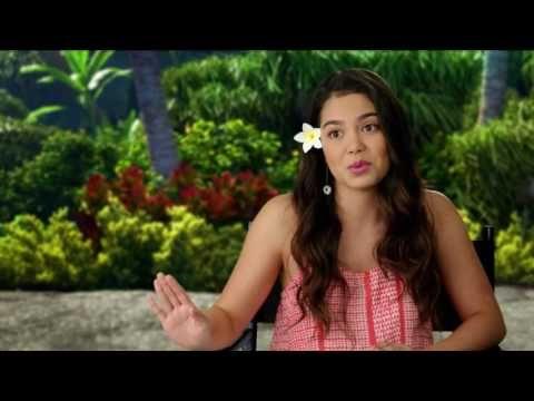 Moana On Set Interview - Auli'i Cravalho