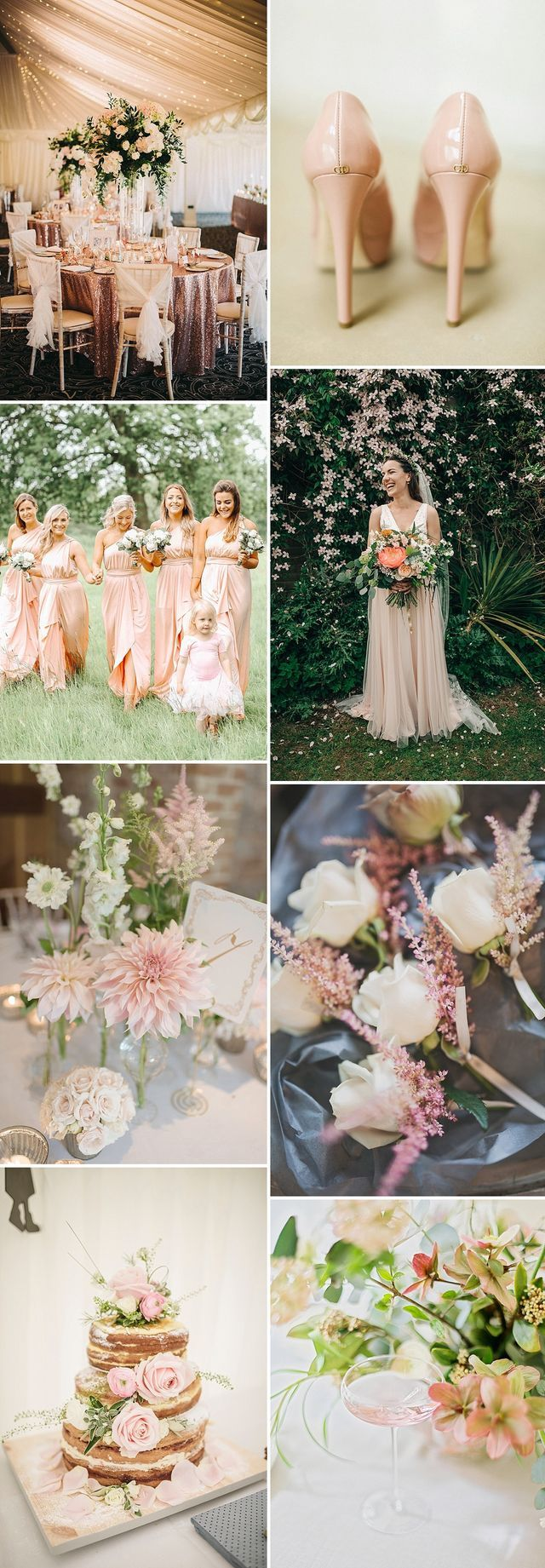 One of the enduring wedding trends that continues to feature so frequently (even from the moment I joined Rock My Wedding back in 2012) is the blush colour theme. Piles upon piles of exquisitely frame