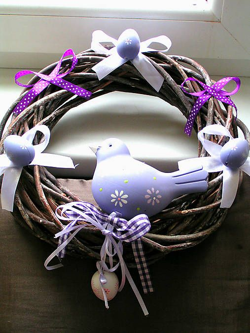 emulikart / handmade Easter wreath