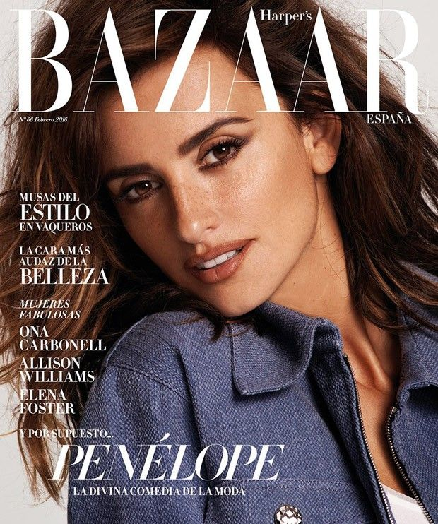 Jan Theo!   blogspot: Penelope Cruz for Harper's Bazaar Spain by Cedric ...