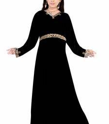 Buy Cystal lycra Abaya crystal-abaya online
