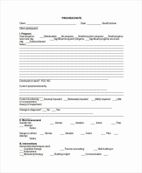Psychotherapy Progress Note Template Pdf Awesome Sample Therapy Note Template 5 Free Documents Download Notes Template Treatment Plan Template Agenda Template