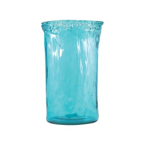 Maya Extra Large Vase In Aroma Blue - 311253