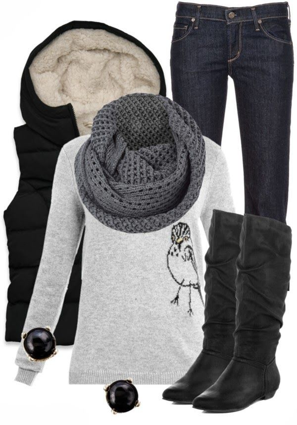 Get Inspired by Fashion: Winter Outfits | A Little Birdie Told Me Stitch fix I lovvvvve this one