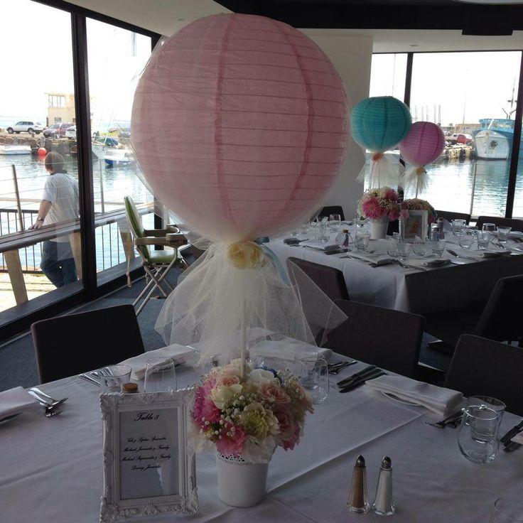 Hot Air Balloon Theme Centrepieces