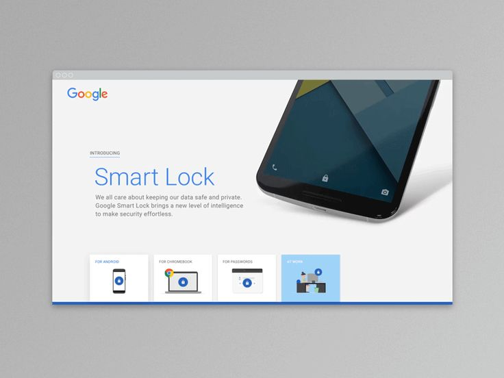 Google Smart Lock Refresh