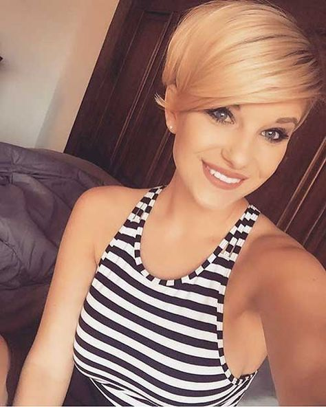 Short Hairstyles for Girls - 23