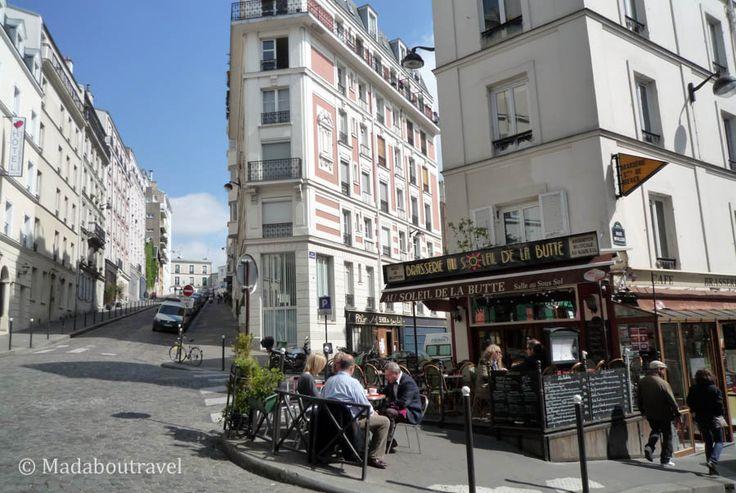 Quaint little corner in Montmartre, Paris