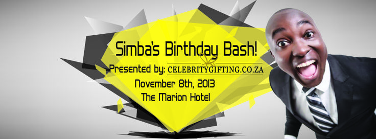 #celebritygifting hosted Simba's #bdaybash at the Marion on Nicol.