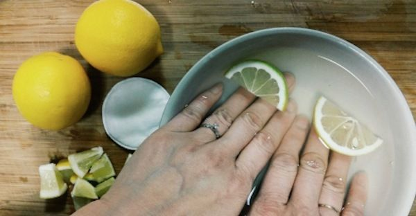 Le citron remplace l'acétone comme dissolvant pour les ongles.