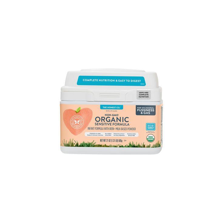 Honest Company Sensitive Organic Infant Formula - 21oz