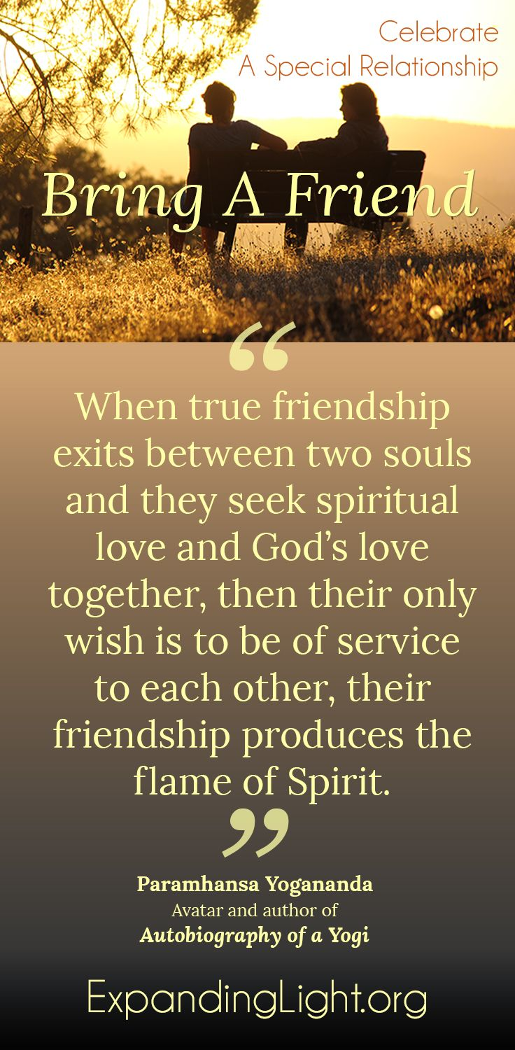 friendship quote meditation with friends at The