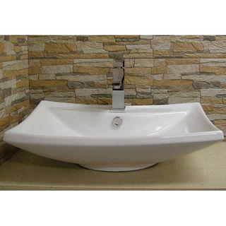 Bathroom Sinks Overstock best 25+ white vessel sink ideas on pinterest | vessel sink