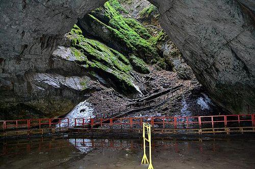 Pestera Scarisoara Mouth pit cave Scărişoara, Romania