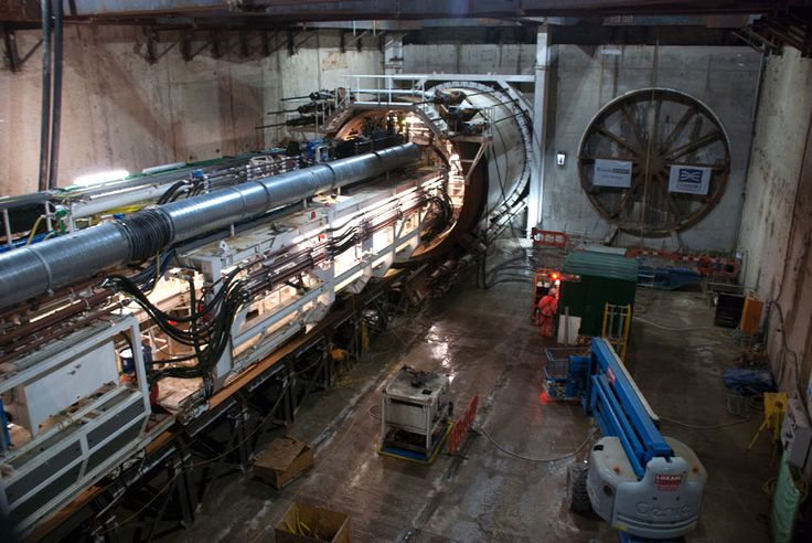 New Crossrail images show tunnelling marathon under the streets of London - Telegraph