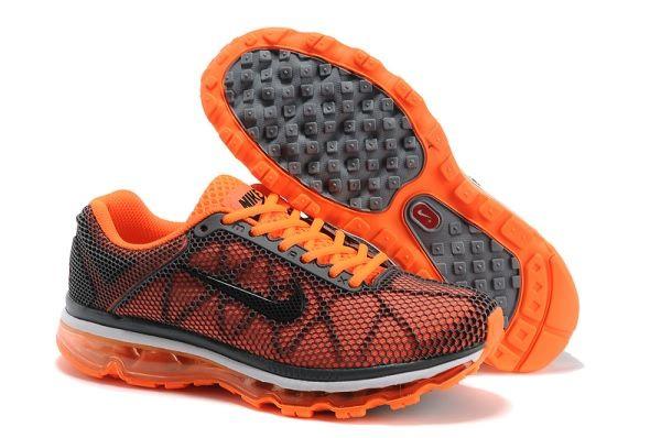 Nike Air Max 2013 Honeycomb Running shoes For Mens OrangeBlack
