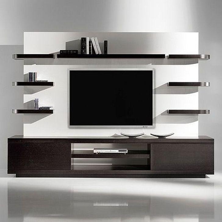 45 Best Ideas Modern Tv Cabinet Designs For Living Room Contemporary Tv Units Living Room Tv Wall Living Room Designs