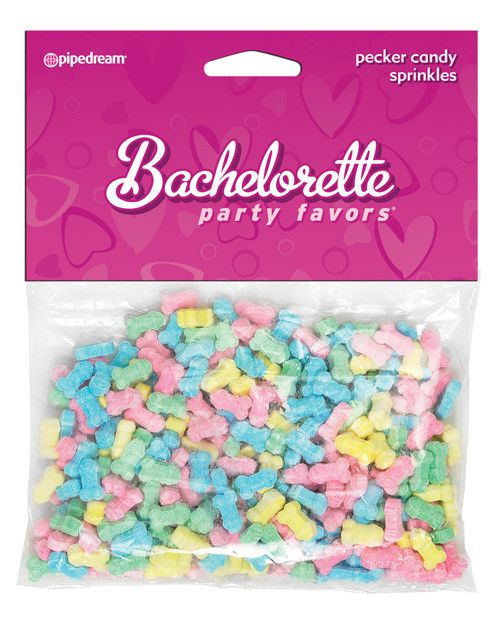 Bachelorette Party Favors Pecker Sprinkles #bachelorette-party