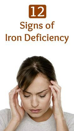Signs of iron deficiency can be very mild at first, and may go completely unnoticed. In fact, most people do not realize they have mild anemia until it is identified in a routine blood test.