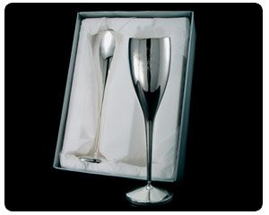 Pearl Wedding Anniversary - Engraved Silver Plated Flutes (Pair) The Pearl Wedding Anniversary Gift with a difference.This wonderful pair of Silver Plated Champagne Flutes come personalised with the couples name and date (Up to 50 characters).The Pearl Wedding Anni http://www.comparestoreprices.co.uk/anniversary-gifts/pearl-wedding-anniversary--engraved-silver-plated-flutes-pair-.asp