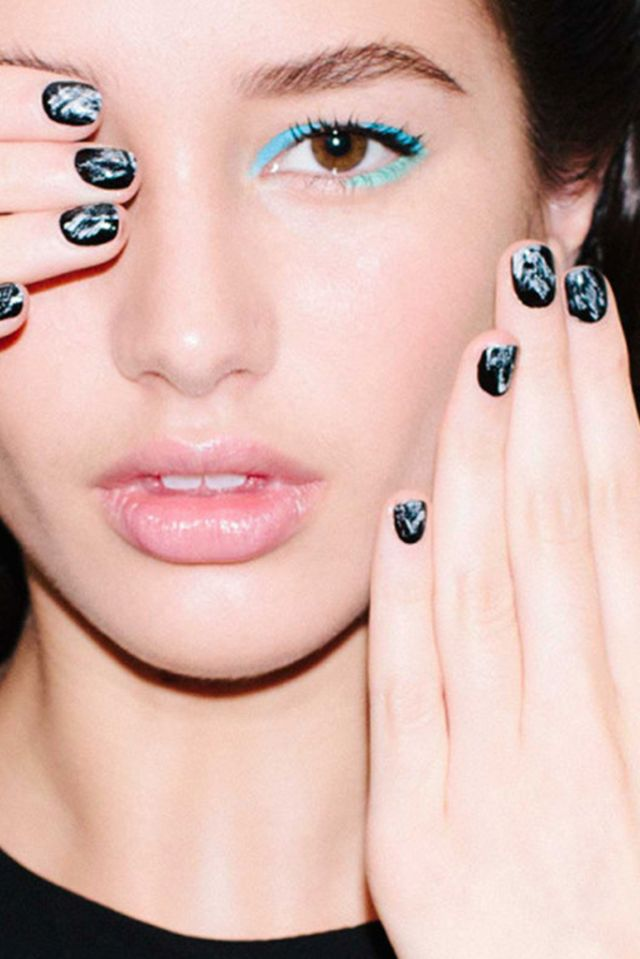 77 best Manicuras y Nail art P/V 2016 | Nail art trends spring ...