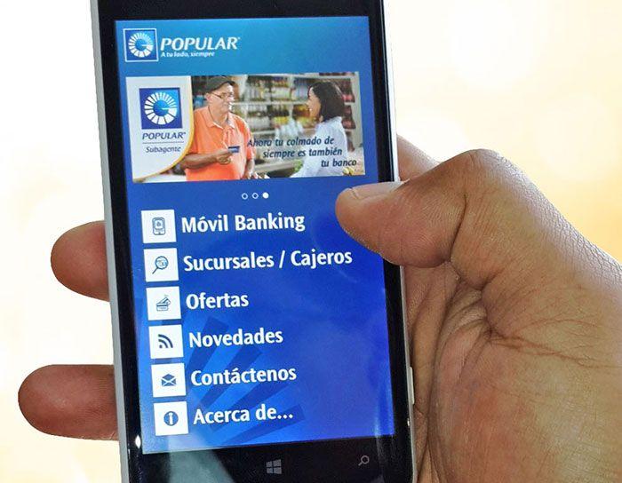Banco Popular lanza App Popular para Windows Phone