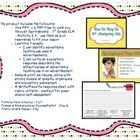 This product includes the following: oOne PPT + 2 PDF files to walk you through  Springboard – 7th Grade ELA – Activity 2.4 – use them as is or re...