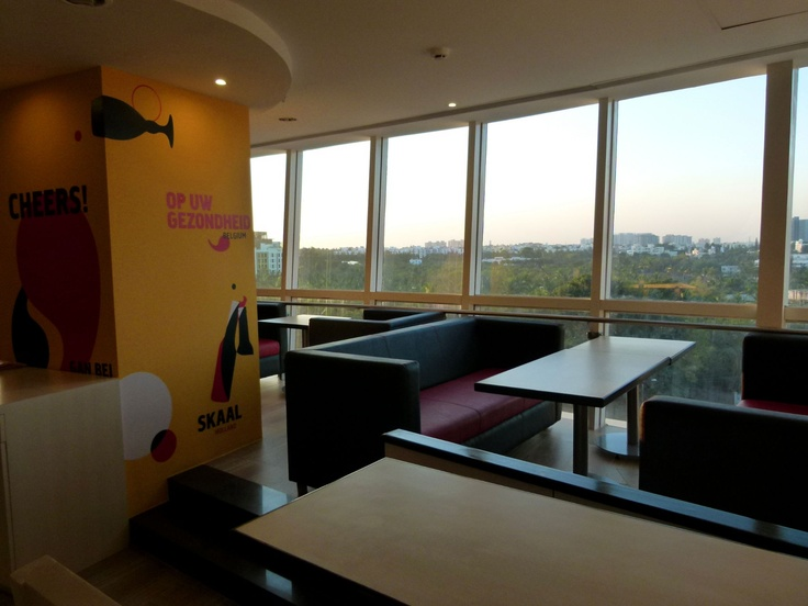The Taste of your favorite beer along with this beautiful view! Only @ The Pint Room — at Royal Meenakshi Mall.