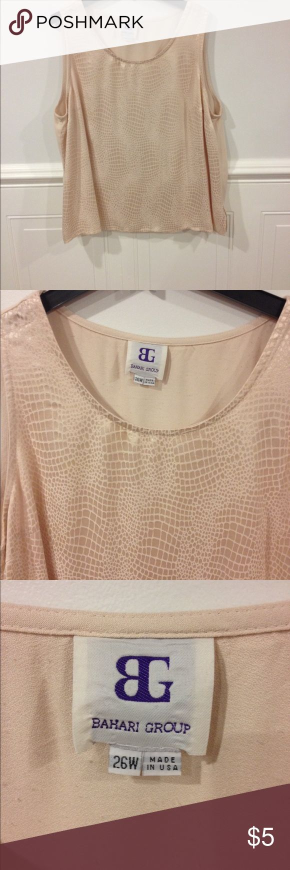 Bahrain Group 26W top good condition Size 26W Bahari Group top good condition Bahari Group Tops