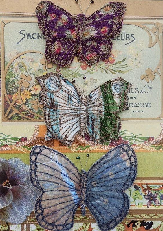 Vintage Butterflies, £65.00