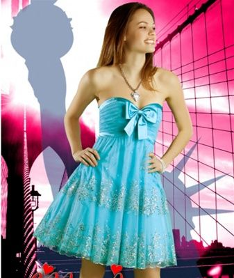 Astra Formal - Jovani 151392   Size 4 Aqua   Size 6 Aqua