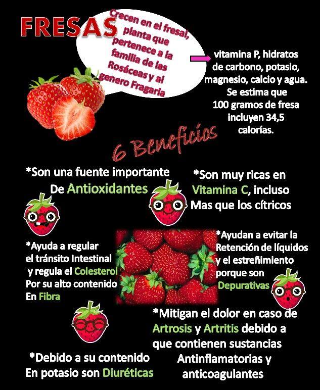 Frutas benéficas