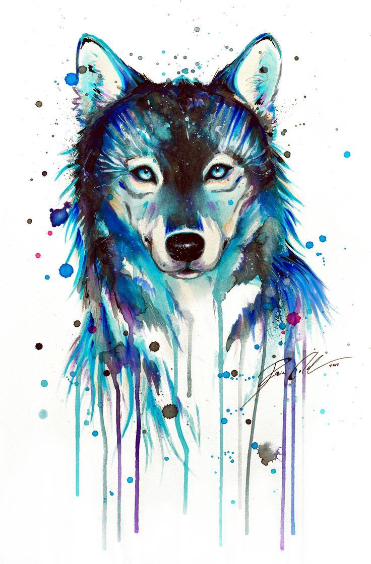 Geometric Animal Drawing Best 25+ Watercolor wo...