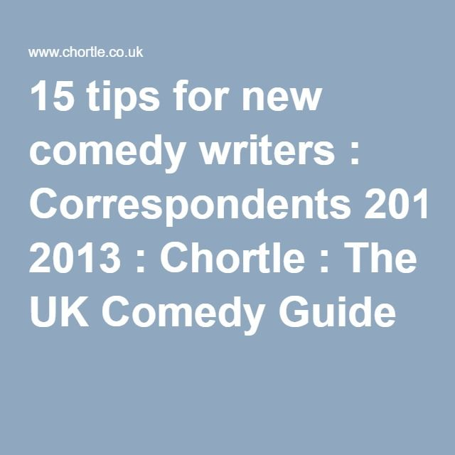 comedy script writing 2018-6-9  television script format  when writing dialogue,  interest, or comedy your spec script is your calling card, so make it great.