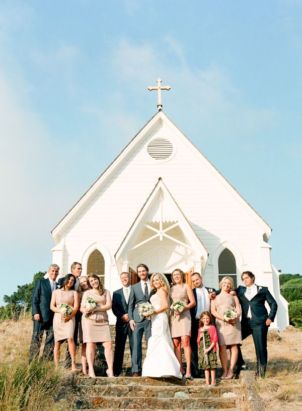 I Would Love My Little White Church Country Wedding