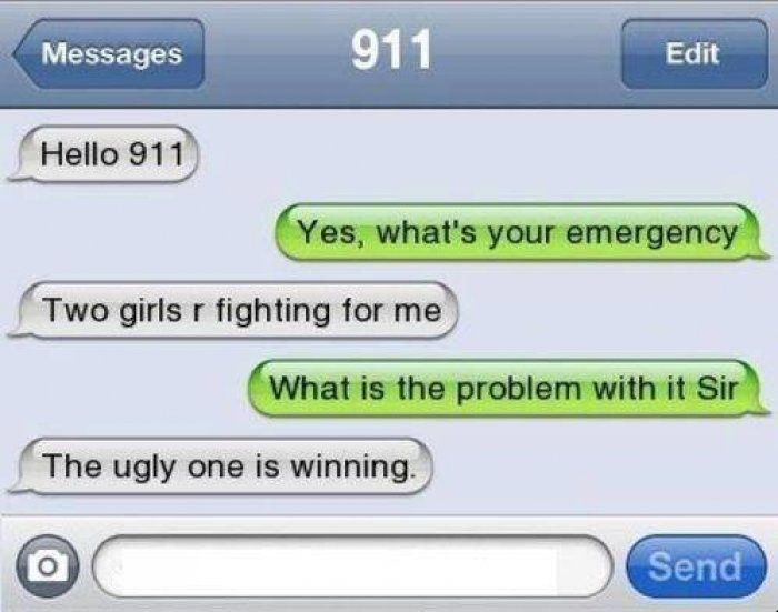 Funny text message to 911 - http://www.jokideo.com/