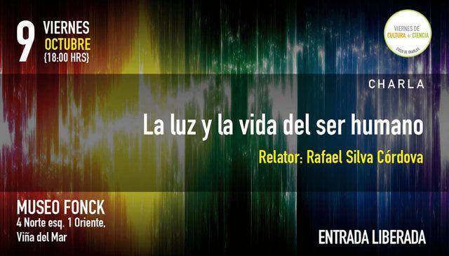 Viernes de Cultura + Ciencia #viñadelmar https://livestream.com/exploravalpo/viernesculturayciencia09102015/images/101480282