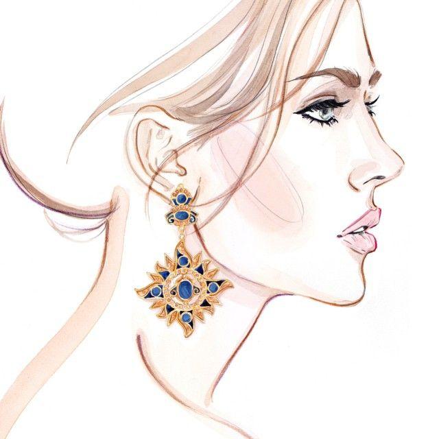 Line Drawing Face Earrings : Best jewelry illustration ideas only on pinterest