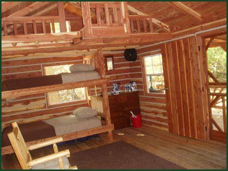 Rustic Cabin Interior Cabin Ideas Pinterest