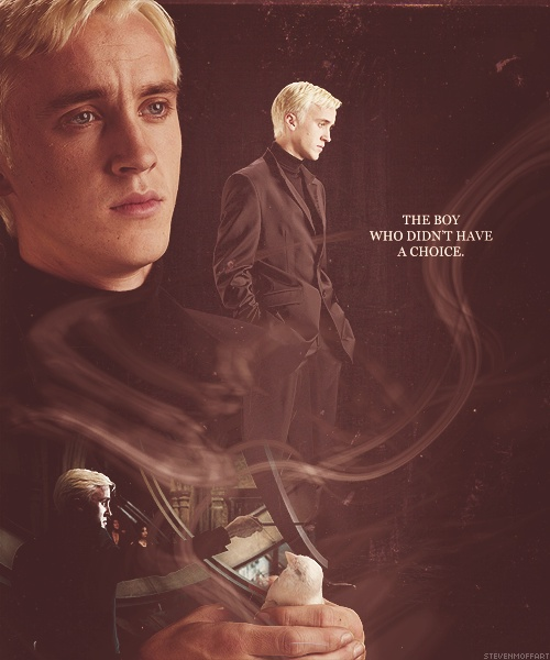 I ALWAYS have had compassion for Draco, he was a lost boy put in a terrible situation.