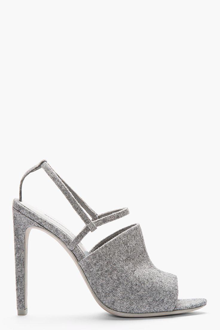 Alexander Wang Silver Heel